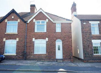 Thumbnail 3 bed semi-detached house for sale in Woodville Road, Hartshorne, Swadlincote