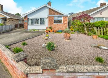 Thumbnail 2 bed detached bungalow for sale in Peacock Close, Carlton Colville, Lowestoft