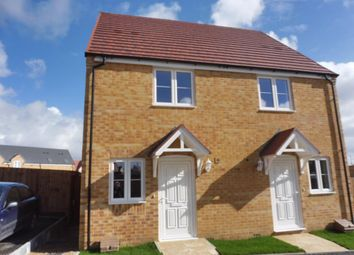 Thumbnail 2 bed property to rent in Brecon Close, Corby