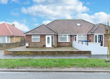 Thumbnail 3 bed semi-detached bungalow for sale in Bowness Avenue, Sompting, West Sussex