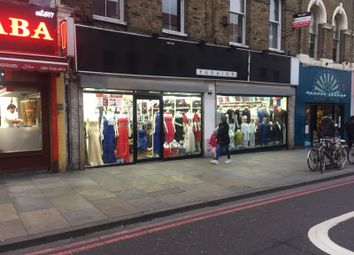 Thumbnail Retail premises for sale in Kingsland High Street, London