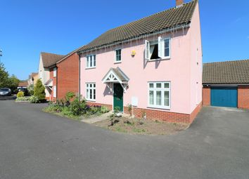 Thumbnail 4 bedroom detached house for sale in Beverley Close, Carbrooke