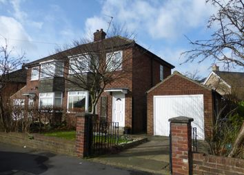 Thumbnail 3 bed semi-detached house to rent in Crossways Drive, Harrogate, North Yorkshire