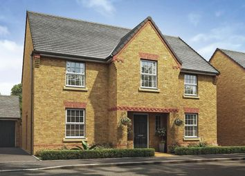 "Thumbnail 4 bedroom detached house for sale in ""Winstone"" at Harlestone Road, Northampton"