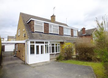 Thumbnail 3 bed semi-detached house to rent in Plantation Avenue, Shadwell, Leeds