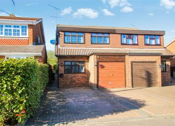 Thumbnail 4 bed semi-detached house for sale in Moreland Road, Wickford