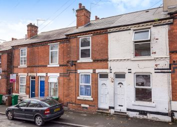 Thumbnail 2 bedroom terraced house for sale in Ewart Road, Nottingham