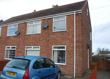 Thumbnail 2 bed semi-detached house to rent in Fair View, West Rainton, Houghton Le Spring