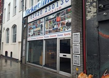 Thumbnail Retail premises to let in 43 - 47 Westgate Street, Cardiff