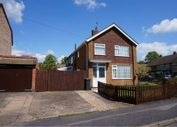 Thumbnail 3 bed semi-detached house for sale in Keble Drive, Syston