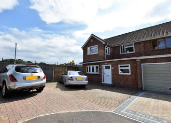 Thumbnail 4 bed semi-detached house to rent in Foxwood Road, Bean, Dartford