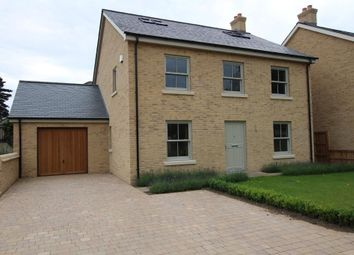 Thumbnail 5 bedroom detached house for sale in The Pond, Station Road, Haddenham, Ely