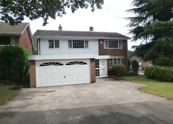 Thumbnail 4 bed detached house for sale in Linforth Drive, Streetly, Sutton Coldfield