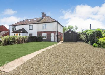 Thumbnail 3 bed semi-detached house to rent in Chapel Road, Beighton, Norwich