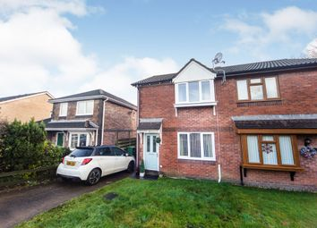 Thumbnail 2 bed semi-detached house for sale in Ffordd Helygen, Llanharry, Pontyclun