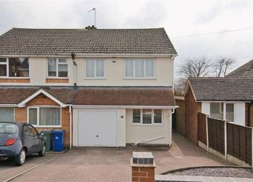 Thumbnail 3 bed semi-detached house to rent in Cannock Road, Heath Hayes, Cannock