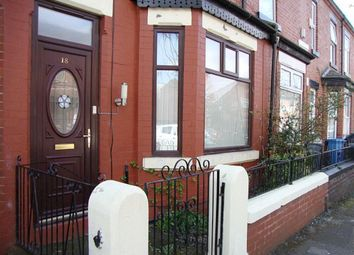Thumbnail 3 bed terraced house for sale in Carrill Grove East, Levenshulme, Manchester