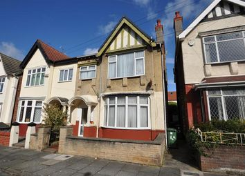 Thumbnail 2 bed flat for sale in Knowsley Road, Wallasey