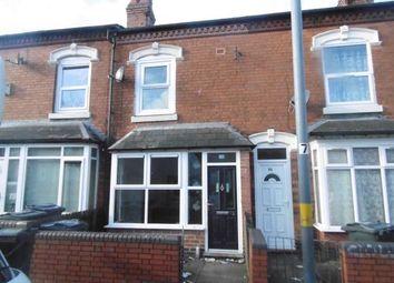 Thumbnail 3 bed terraced house for sale in Membury Road, Saltley, Birmingham