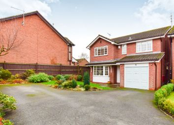 Thumbnail 4 bed detached house for sale in Tate Drive, Crewe
