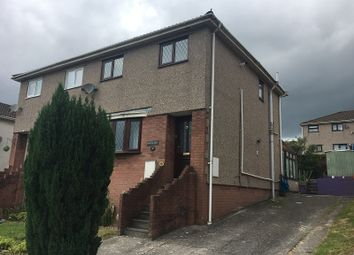 Thumbnail 3 bed semi-detached house to rent in The Hollies, Brackla, Bridgend.