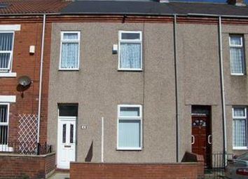 Thumbnail 3 bedroom terraced house to rent in Rowley Street, Blyth