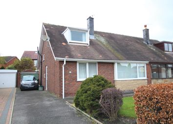 Thumbnail 3 bed semi-detached bungalow for sale in Whitefield Road, Penwortham, Preston