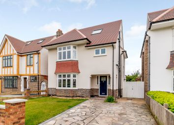 Thumbnail 4 bed detached house for sale in Manor Drive, Esher