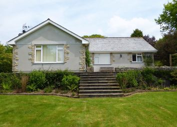 Thumbnail 4 bed detached bungalow to rent in Mount, Bodmin