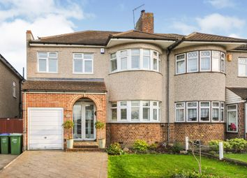 Thumbnail 4 bed semi-detached house for sale in Wren Road, Sidcup