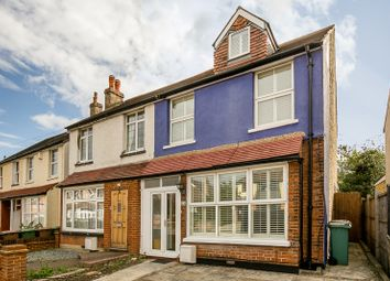 Thumbnail 3 bed terraced house for sale in Gander Green Lane, Sutton, Surrey