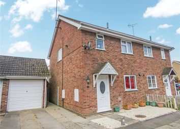 Thumbnail 3 bed semi-detached house for sale in Windsor Road, Sawtry, Huntingdon, Cambridgeshire