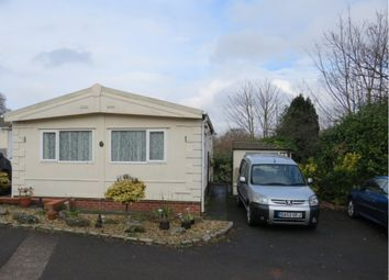 Thumbnail 2 bed mobile/park home for sale in Tarvin Road, Alvanley, Frodsham