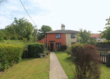 Thumbnail 2 bed semi-detached house for sale in The Street, Lound, Lowestoft