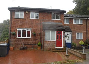 Thumbnail 3 bed end terrace house to rent in Marshalls Close, London