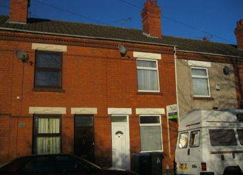 Thumbnail 2 bed terraced house to rent in Lansdowne Street, Stoke, Coventry