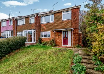 Thumbnail 3 bed end terrace house for sale in Porlock Drive, Luton