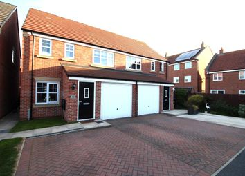Thumbnail 3 bed semi-detached house for sale in Voyager Close, Fleetwood