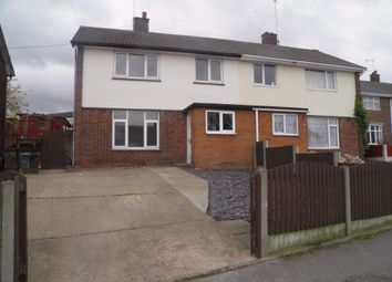 Thumbnail 3 bed semi-detached house to rent in Breck Bank, New Ollerton, Newark, Nottinghamshire