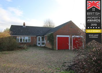 Thumbnail 3 bed detached bungalow for sale in Banham Road, Kenninghall, Norwich