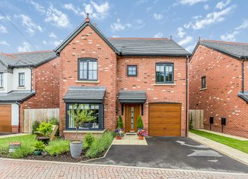 Thumbnail 4 bed detached house for sale in Hazel Close, Holmes Chapel, Crewe, Cheshire