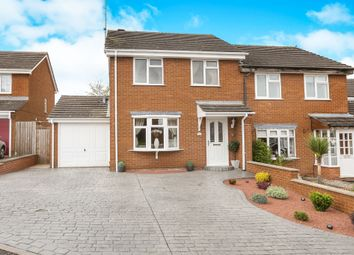 Thumbnail 3 bed semi-detached house for sale in Whimbrel Grove, Kidderminster