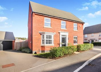 Thumbnail 4 bed detached house for sale in Harrison Road, Duston, Northampton