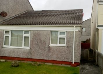 Thumbnail 2 bed semi-detached bungalow to rent in Roseland Gardens, Redruth