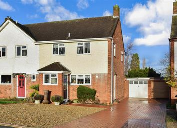 Thumbnail 3 bed semi-detached house for sale in Holmoaks, Rainham, Gillingham, Kent