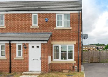 Thumbnail 3 bedroom semi-detached house for sale in Langbar Approach, Leeds, West Yorkshire