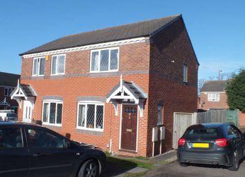 Thumbnail 2 bed semi-detached house for sale in Cranwell Grove, Erdington, Birmingham