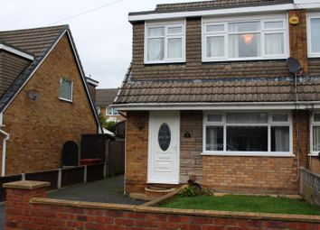 Thumbnail 3 bed semi-detached house for sale in Halton Hey, Whiston, Prescot