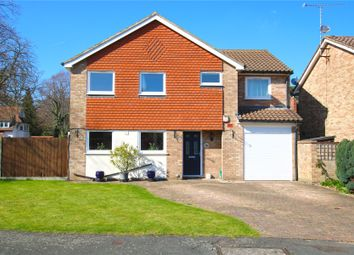 Thumbnail 5 bed detached house for sale in Woodham, Addlestone, Surrey