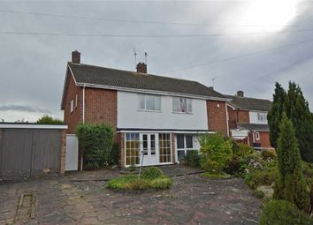 Thumbnail 3 bed semi-detached house for sale in Kilverstone Avenue, Leicester